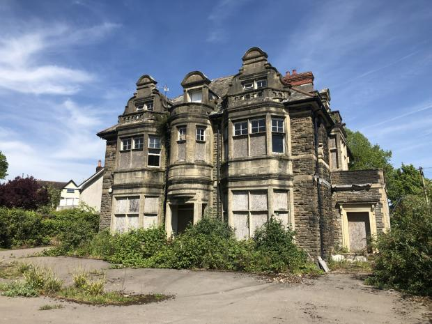 Rothbury House in Newport had been bought by the charity New Pathways