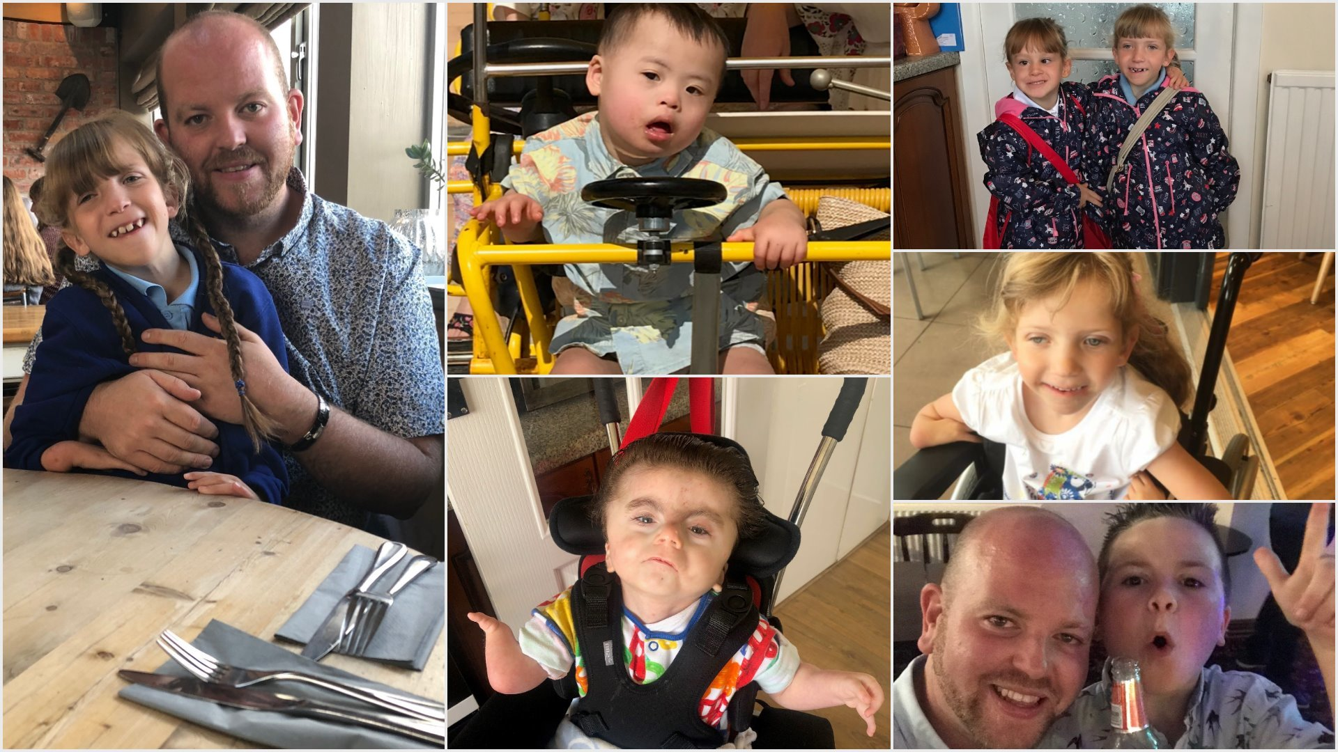 Super dad from Blackwood adopts fifth disabled child an wants others to know more about adoption