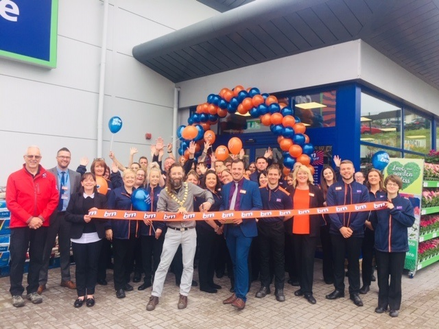 Chepstow's new B&M store makes food first impression