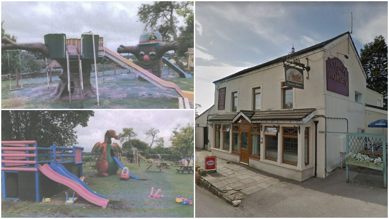 The Coach and Horses in Caerwent's play area could be torn down because of too many 'screaming children'