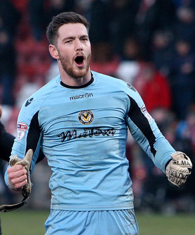 GONE: Goalkeeper Joe Day has swapped Newport County for Cardiff City