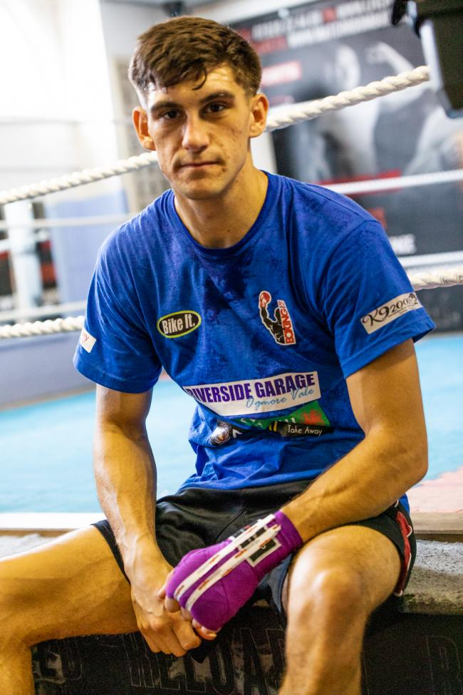 TITLE AMBITIONS: Robbie Vernon is targeting the Welsh title. Picture: www.liamhartery.com
