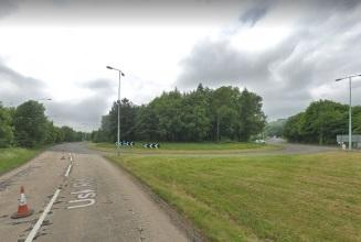 The 'Horse & Jockey' roundabout on the A4042 near Pontypool (Picture: Google Maps)