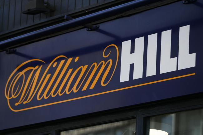 CLOSING: William Hill will closing 700 stores. Picture: PA