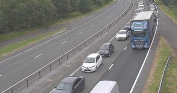 South Wales Argus: A40 traffic camera south of Raglan Junction