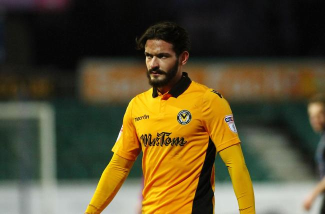 UNHAPPY: Flo Bojaj did not enjoy his brief loan spell at Newport County in 2017