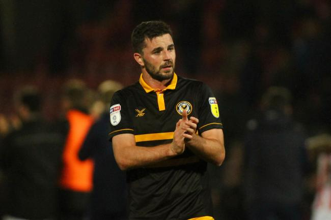 SCORER: Padraig Amond was on target for Newport County against Al Ahly
