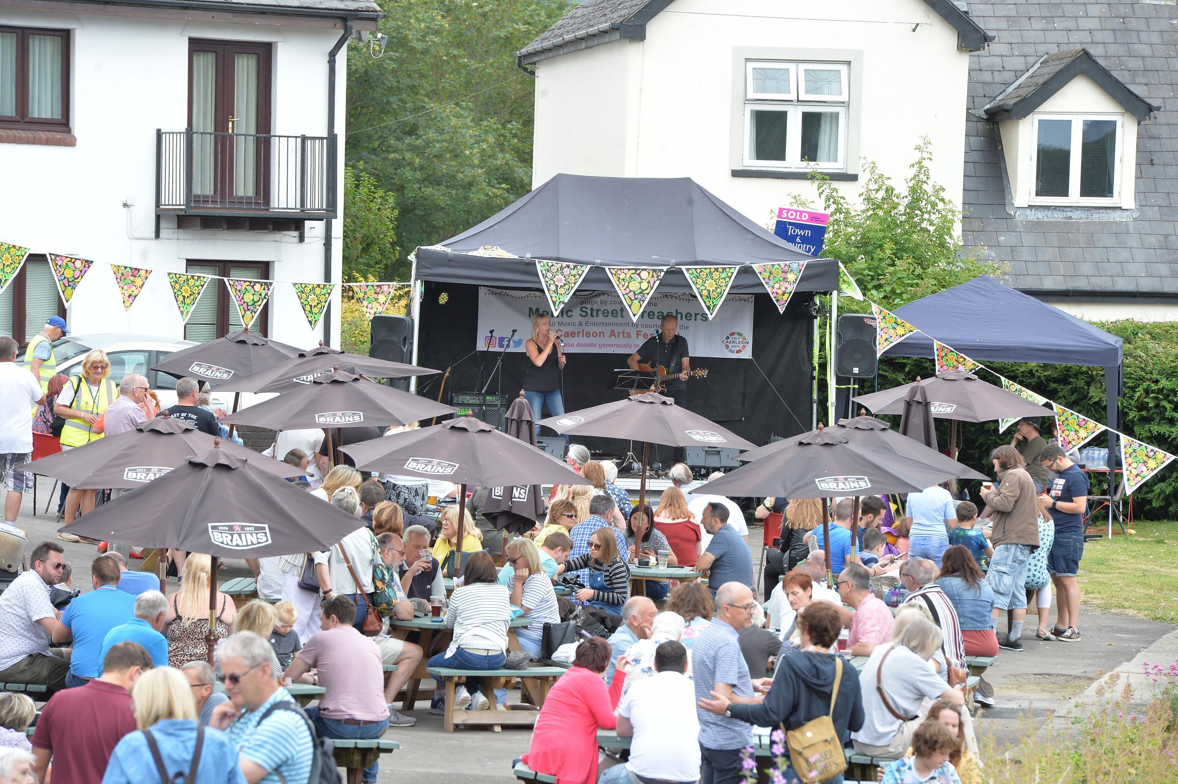 Impressive turnout for culmination of Caerleon festival