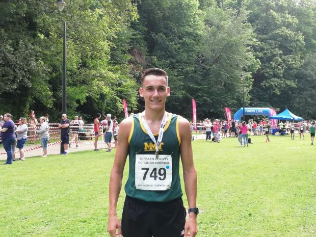 South Wales Argus: Chris Carpanini finished in 30m 28s.