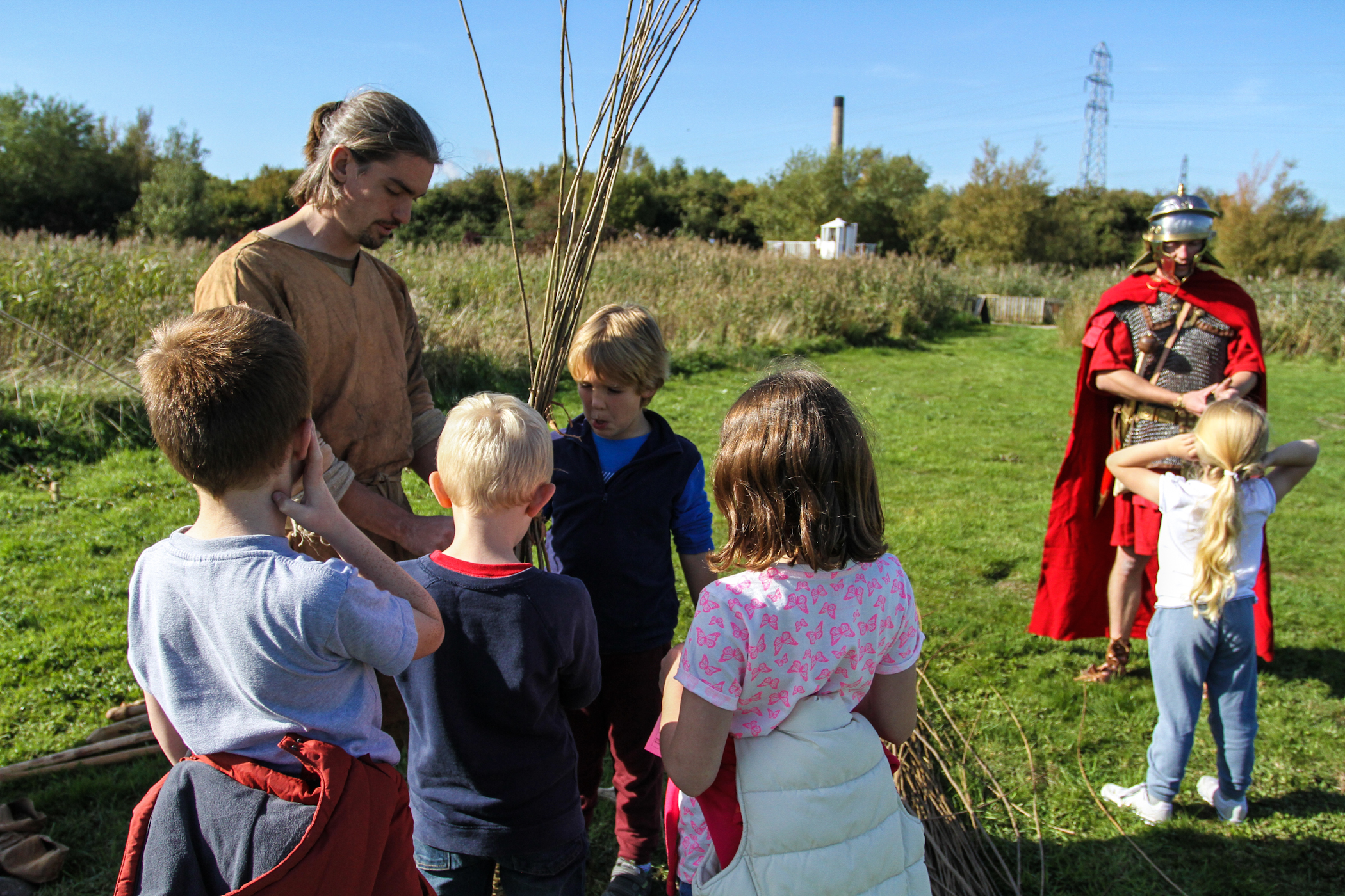 Rugged Romans, Muddy Monks - Levels History Day!