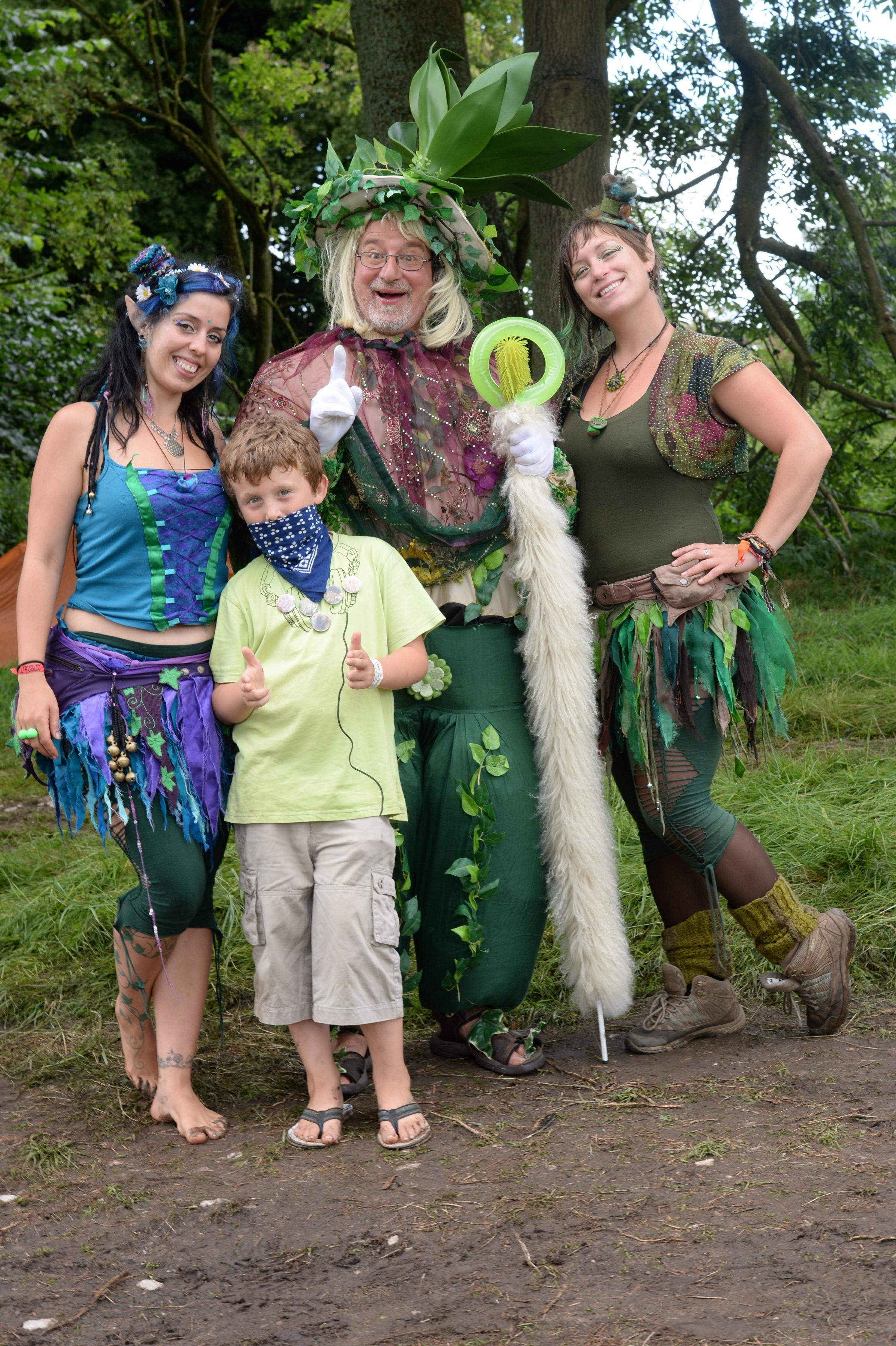 The Green Gathering festival in Chepstow is focussing on sustainability for the whole family