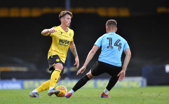 SIGNED: Millwall under-23s right-back Danny McNamara, left, has joined Newport County on a season-long loan. Picture: Millwall FC
