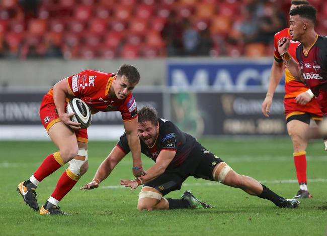 STARTING AIM: Centre Connor Edwards is determined to break back into the Dragons XV