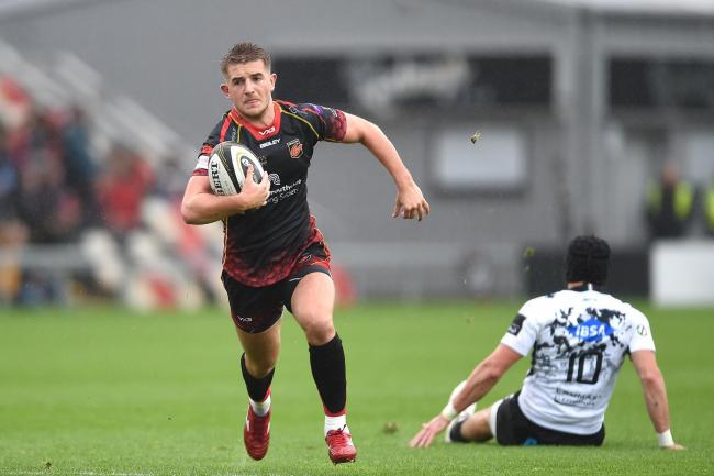 CHANCE TO SHINE: Arwel Robson and Jacob Botica have backed up Dragons fly-half Sam Davies