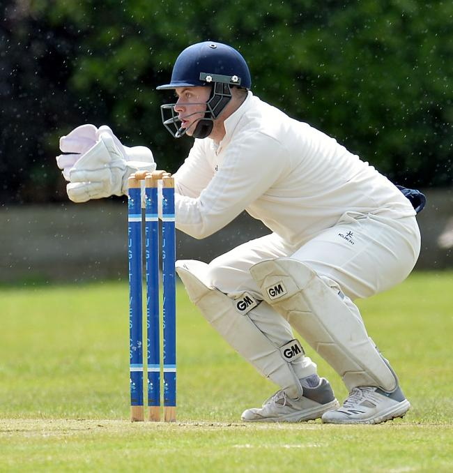 IN THE RUNS: Rob Williams made 49 for Newport Fugitives at Swansea. Picture: www.christinsleyphotography.co.uk
