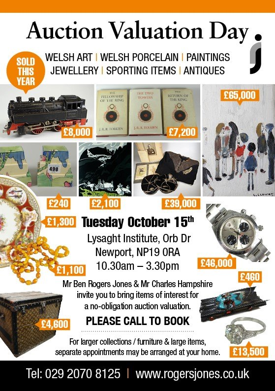 Antiques Valuation Day