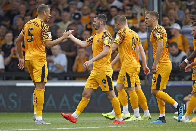 Newport County 2 Mansfield Town 2