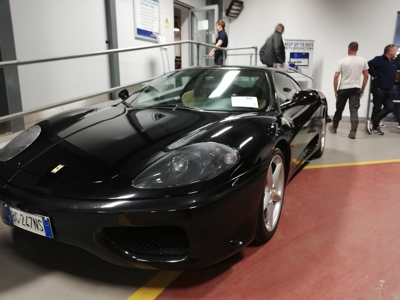 Wilsons Auctions in Newport sells Ferrari in government sale