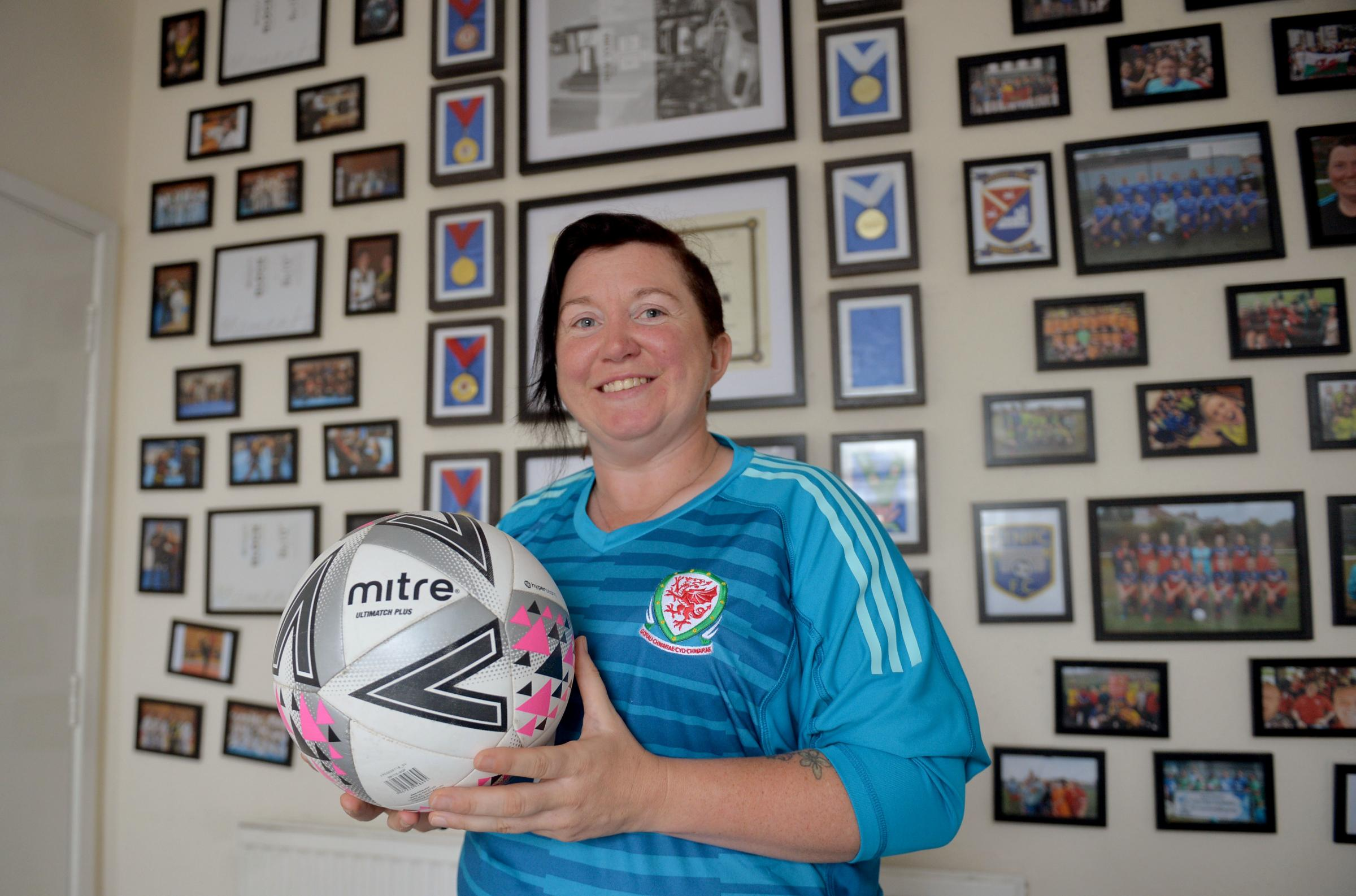 Jennifer Gattrell who represented Wales in The Homeless World Cup has joined Newport City Ladies FC
