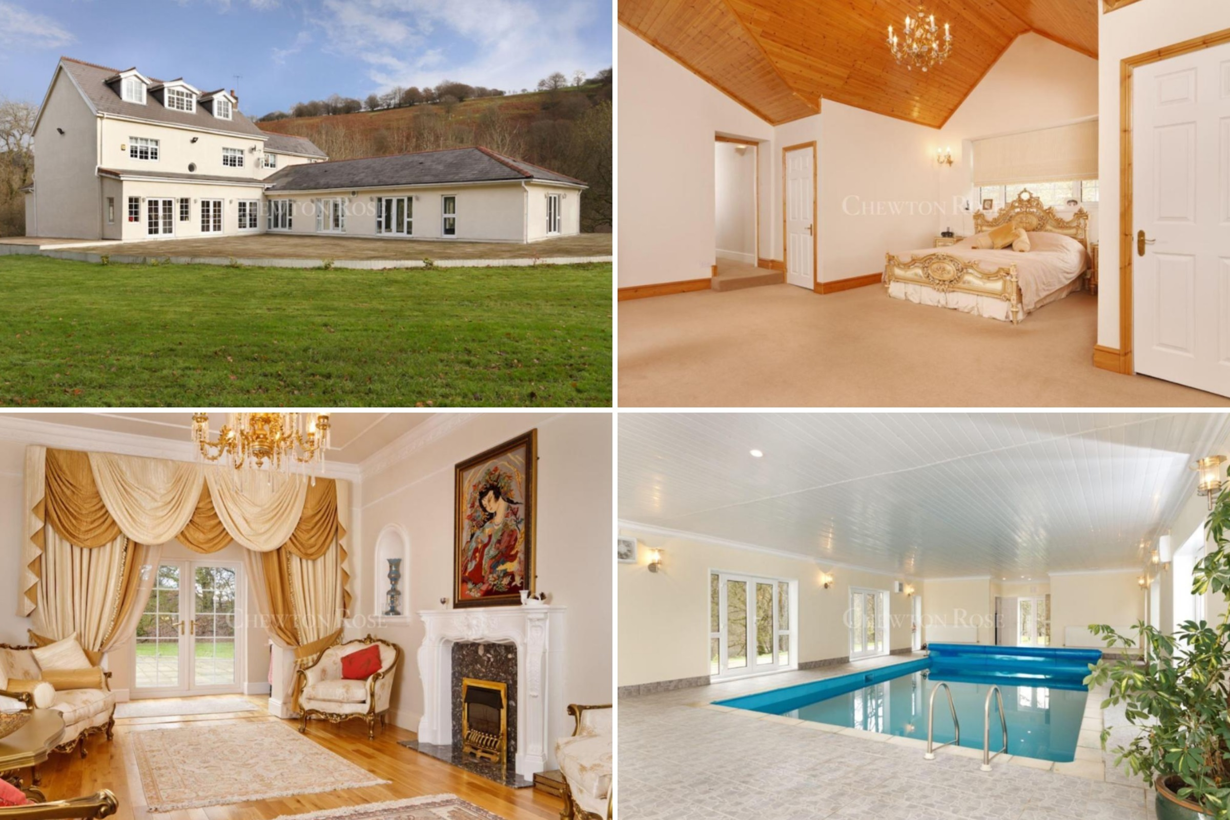 £1.225m mansion near Llanhilleth is perfect for a life of luxury