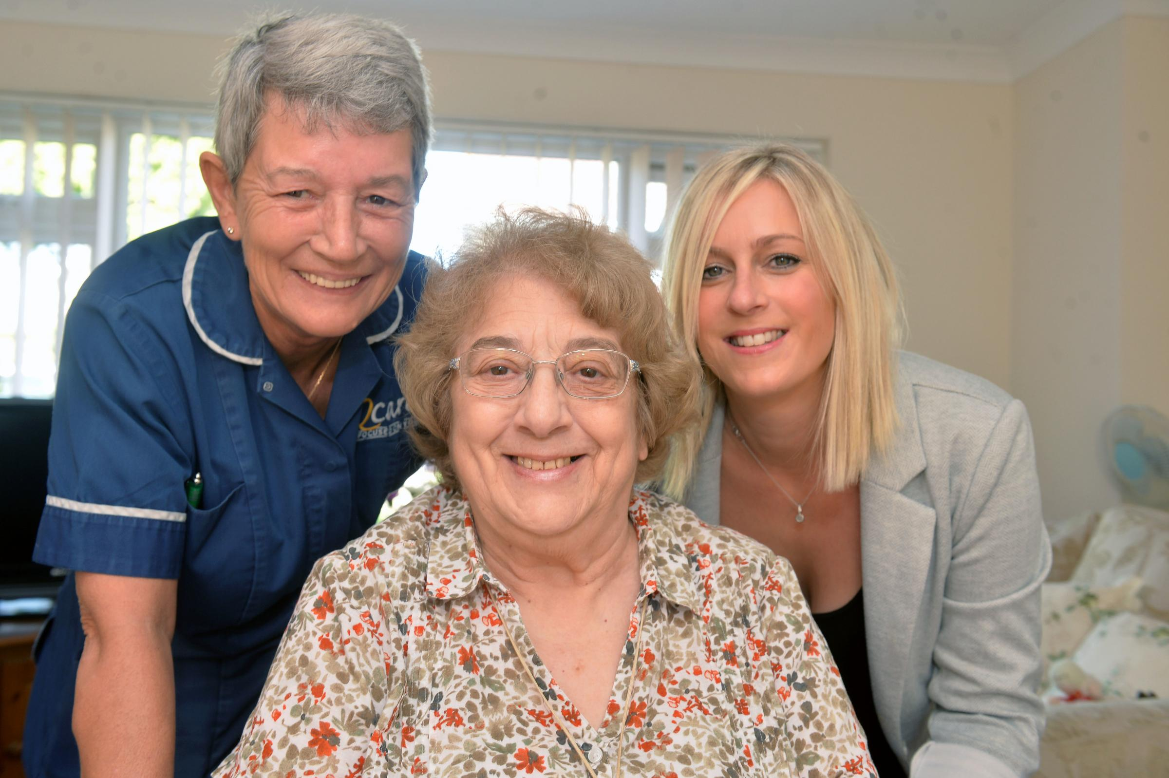 Q Care support worker Rita Martin is shortlisted in Wales Care Awards