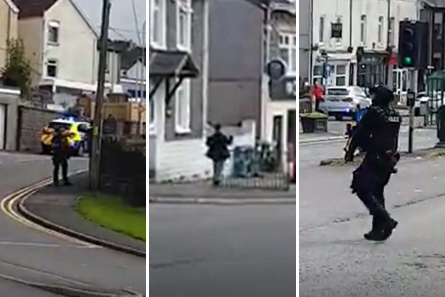 Armed police respond to Maesycwmmer paintball gun incident