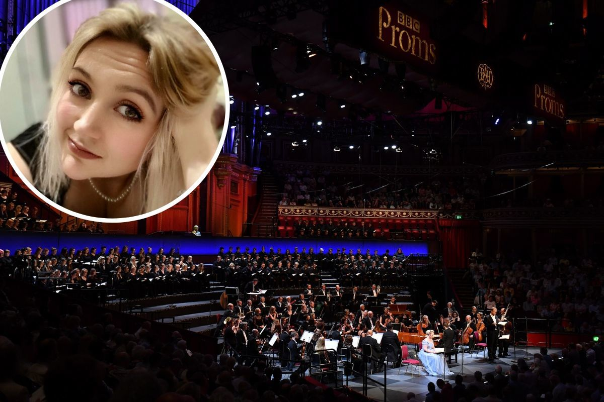 An Abergavenny singer went from suffering 156 epileptic seizures a day to performing at the Royal Albert Hall