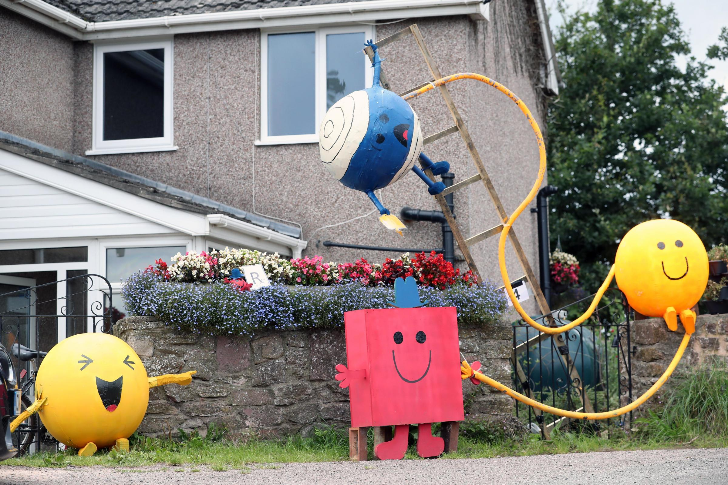 Tregare Scarecrow Trail sees popular characters come to life