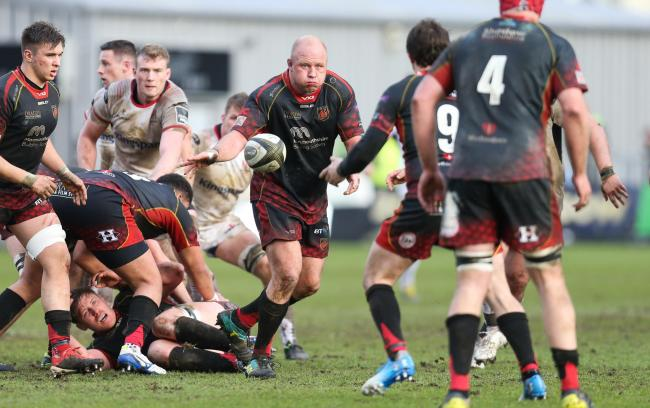 INFLUENTIAL: Popular prop Brok Harris is set for a sixth season at the Dragons