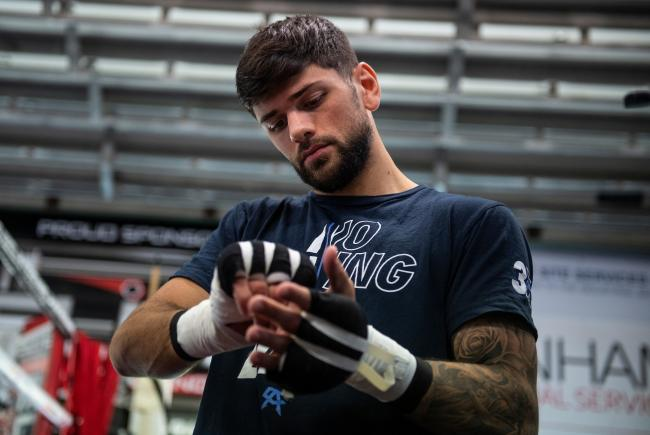 READY FOR BATTLE: Joe Cordina defends his British and Commonwealth titles against former stablemate Gavin Gwynne. Picture: Andrew Timms