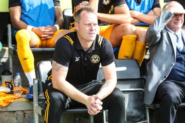 TARGET: Newport County manager Michael Flynn is a wanted man after his success at Rodney Parade