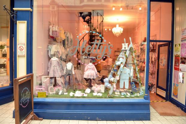 Hetty's Baby Boutique in Newport Arcade has a Spanish twist