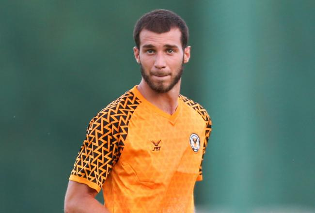 GONE: Defender Lazar Stojsavljevic has been released by Newport County