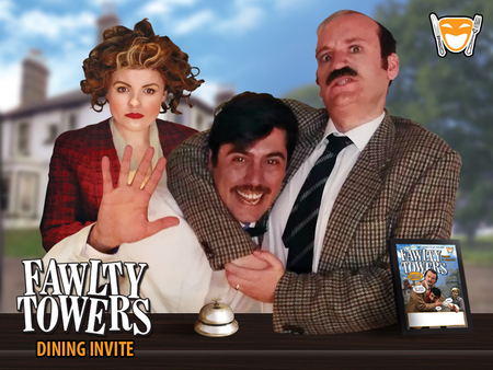 Fawlty Towers Comedy Dinner Show Mercure Swansea 15/11/2019
