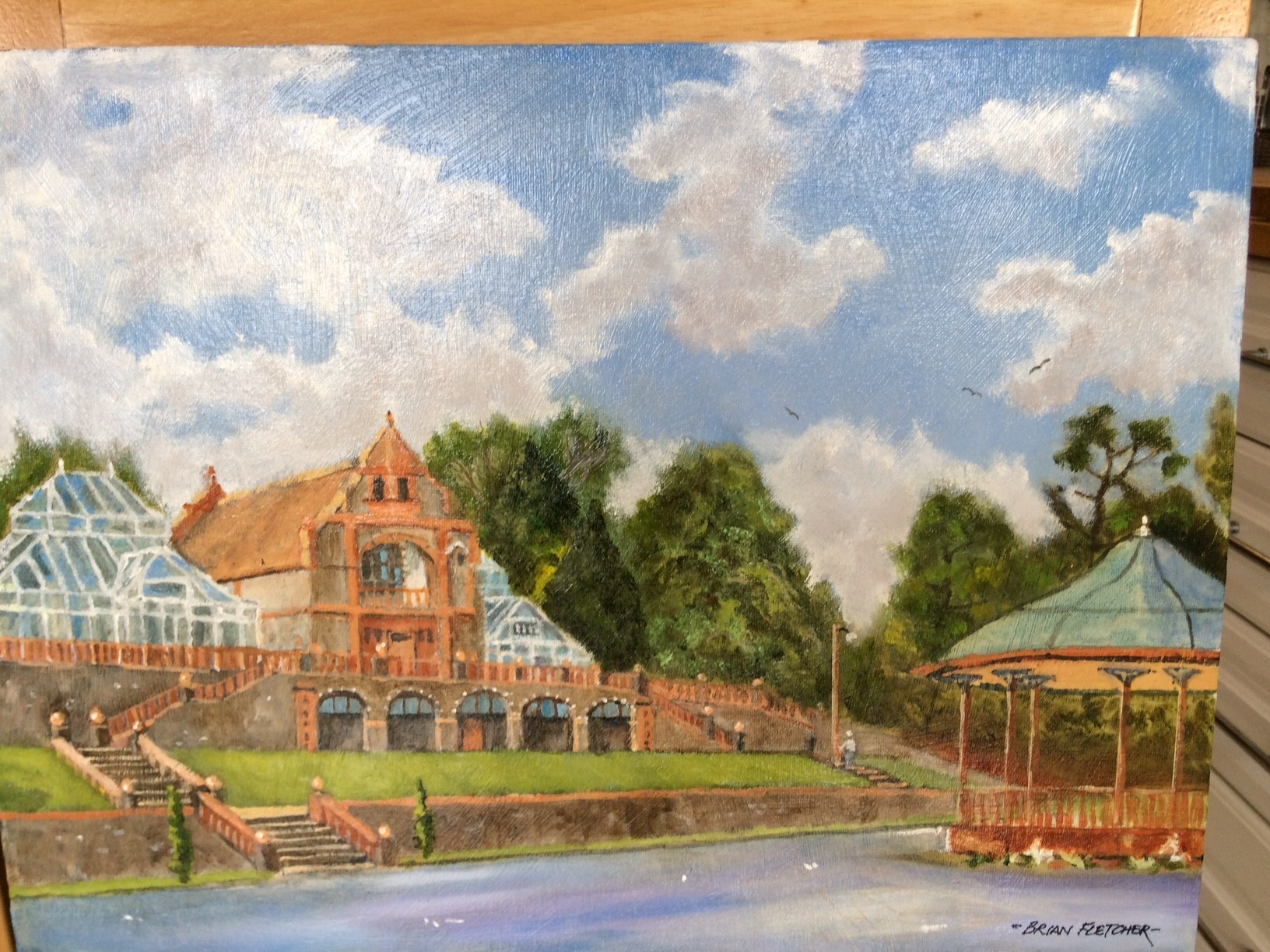 High Cross artist creates Belle Vue Park paintings