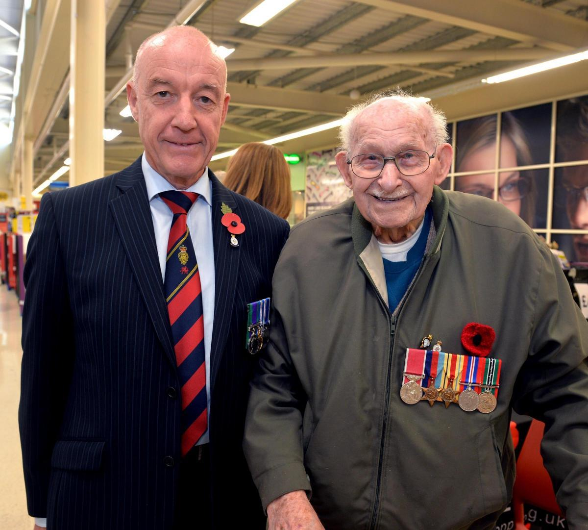 People pay tributes to poppy seller Ron Jones who died this week