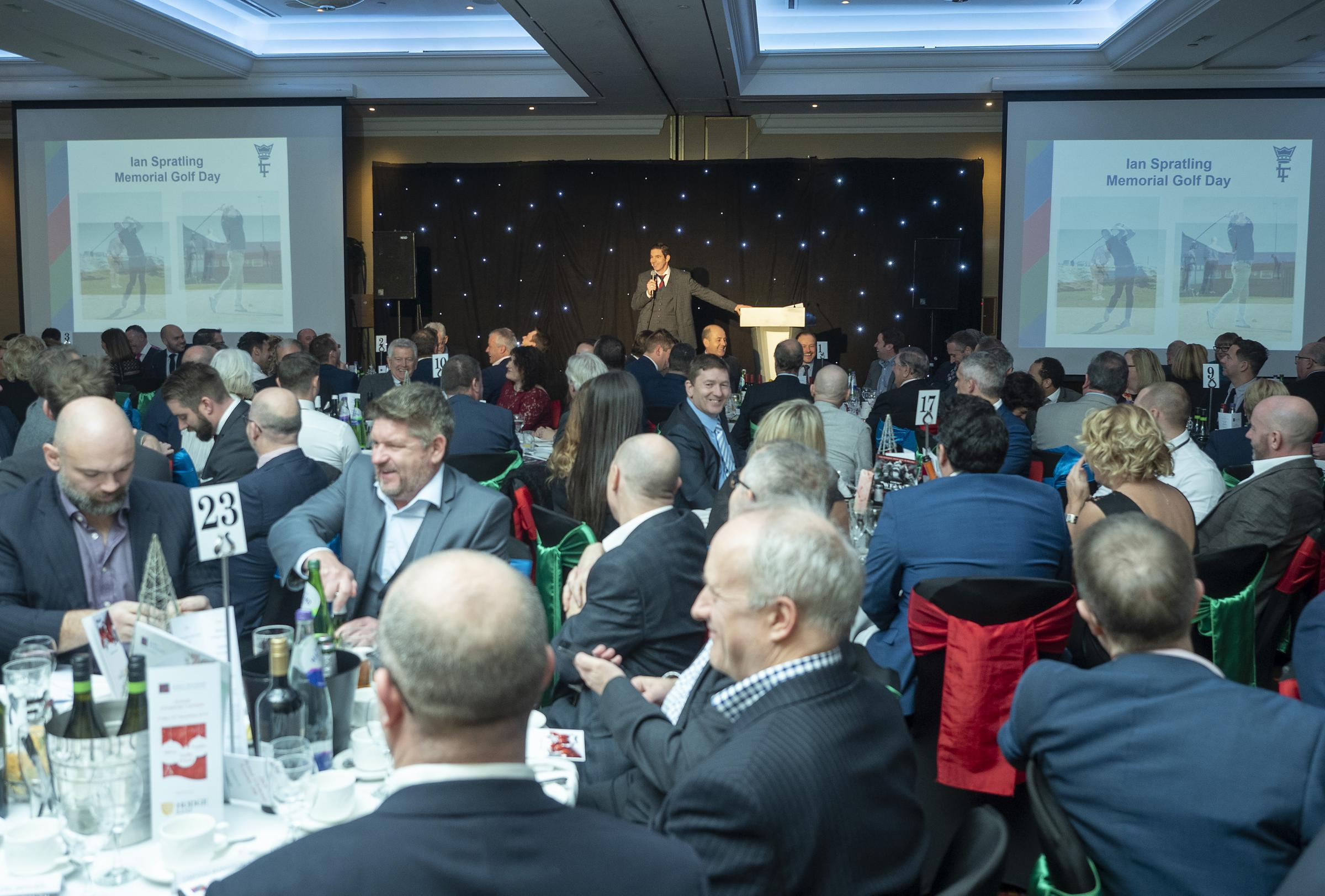 The Lord's Taverners Wales Annual Christmas Lunches