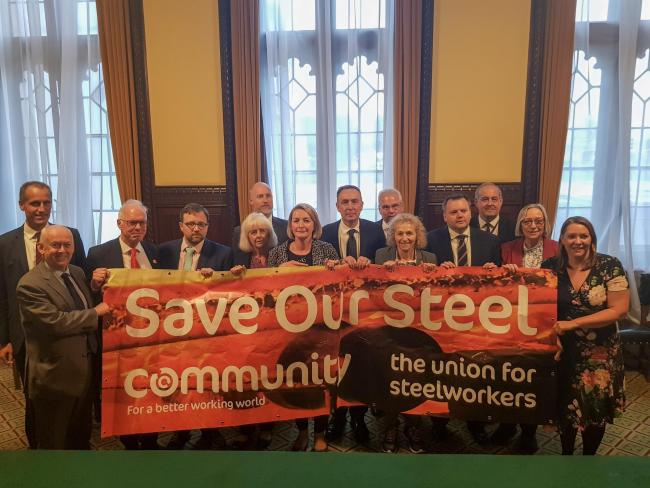 MPs are backing the Save Our Steel campaign and urging the Government to do all it can to help keep open Orb Electrical Steels in Newport