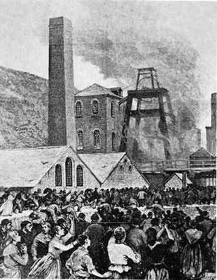 Marking more than 140 years since the Abercarn mining disaster