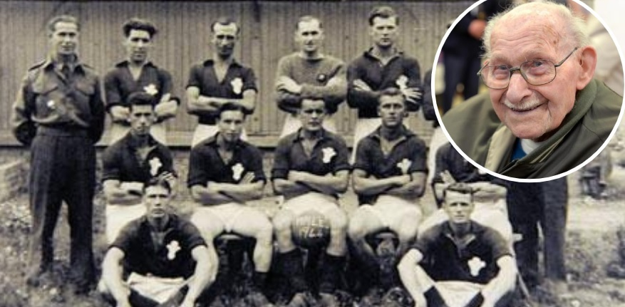 Calls for the late Ron Jones who played football at Auschwitz to be awarded a posthumous cap