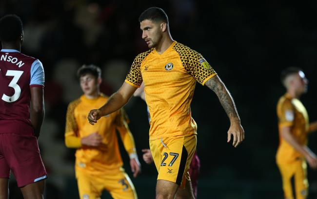 BANNED: County defender Ryan Inniss