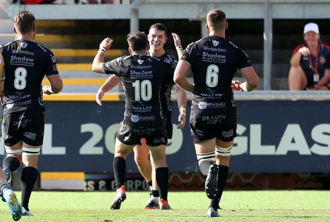 Dragons 34 Scarlets 17: Friendly success for Ryan's men at Rodney Parade