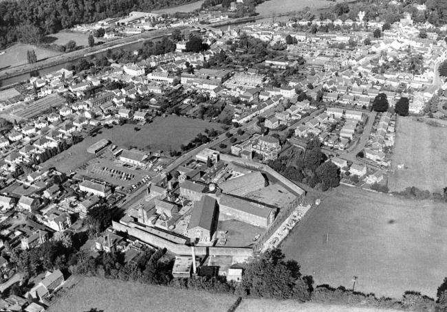 USK aerial view. January 30, 1990
