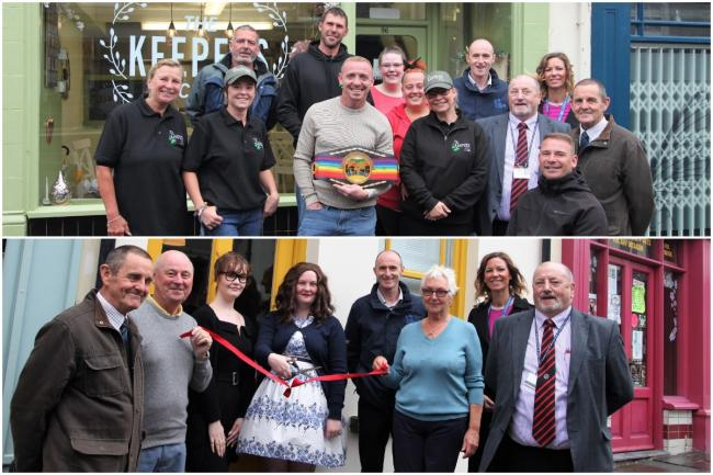 Two new businesses have opened their doors in Blaenavon. Picture: Torfaen council.