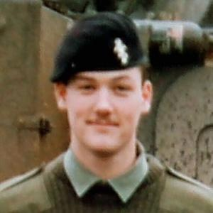 SOLDIER: Phil Brown when serving with the Royal Electrical and Mechanical Engineers