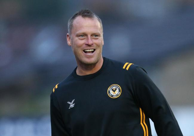 STAYING: Newport County manager Michael Flynn has rejected a move to Lincoln City