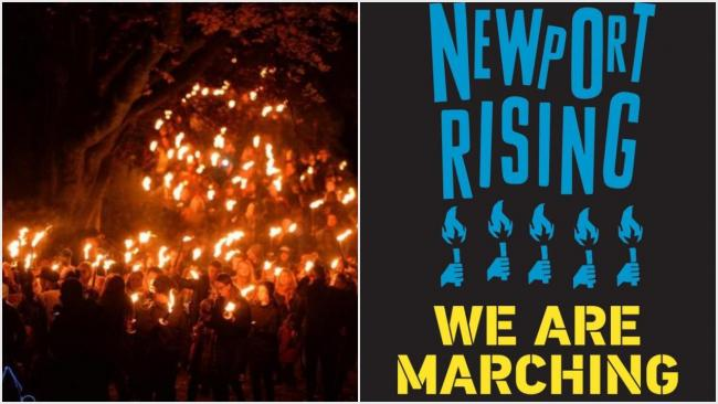The second Newport Rising festival - including a torchlight march - will take place in November