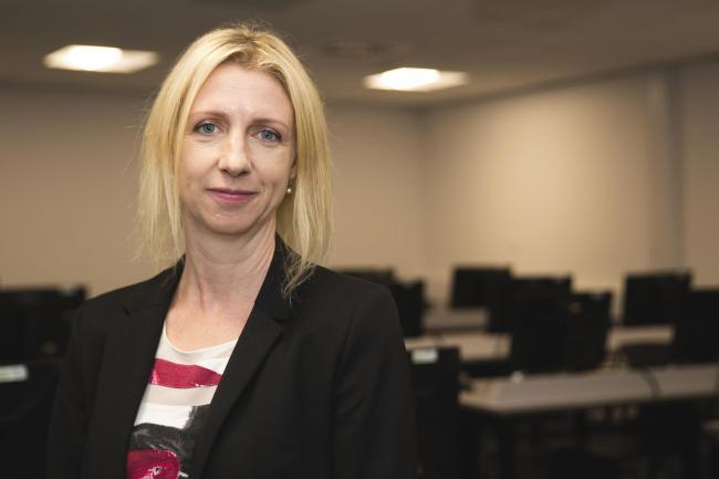 Clare Johnson, head of cyber security at University of South Wales. Picture: Stephen Cleary