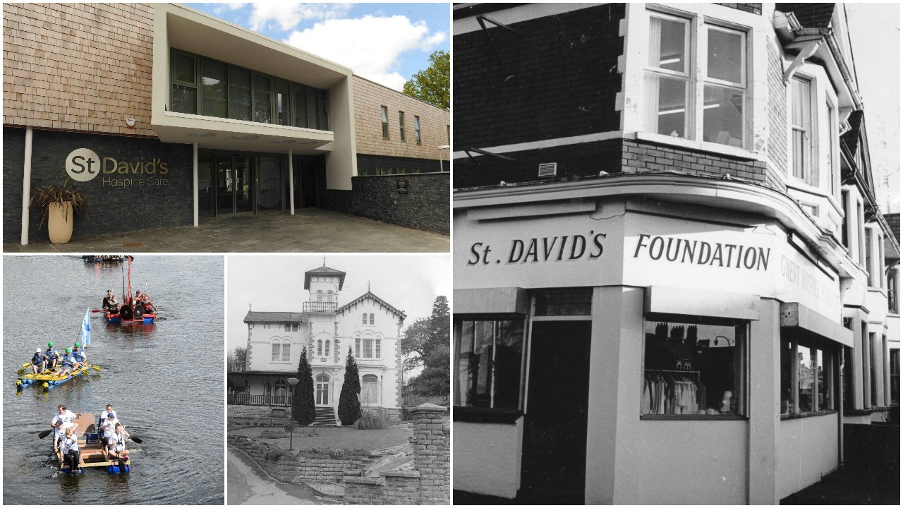 From humble beginnings to caring for thousands in Gwent - St David's Hospice Care is 40 this year