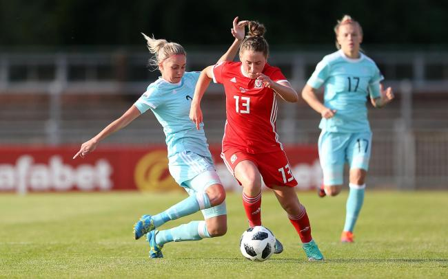 RETURN: Rachel Rowe is back from injury for Wales' trip to Belarus next month